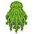 sea monster cthulhu vector image