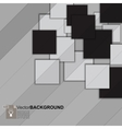 square mosaic abstract background vector image