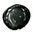 hand drawn grunge circle ink watercolor banner vector image