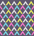 abstract seamless pattern triangular elements vector image vector image