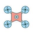 drone icon image vector image vector image