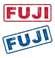 Fuji Rubber Stamps vector image vector image