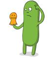 Halloween puppet monster vector image vector image