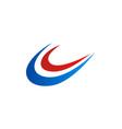 loop company logo vector image