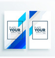 modern business banners set background vector image vector image