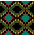 navajo tribal ornament vector image vector image