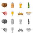 pub and bar logo vector image vector image
