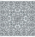 television noise glitch mandala pattern vector image vector image