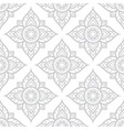 thai flowers seamless pattern asian floral design vector image vector image