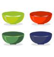 bowl vector image