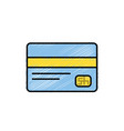 business credit card to buy things vector image vector image