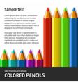 ColoredPencils vector image