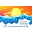 liquid fluid futuristic landscape vector image vector image