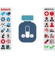 Male Medicine Icon vector image vector image