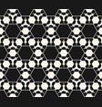 monochrome seamless pattern geometric delicate vector image vector image