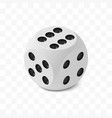 one isometric craps game dice matte photo vector image