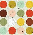 scandinavian geometric modern seamless pattern vector image vector image