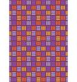 Seamless bright fun abstract mosaic knitted vector image vector image