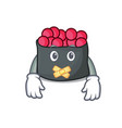 silent ikura mascot cartoon style vector image vector image