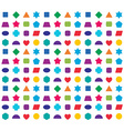 Colorful kids seamless pattern background Color vector image