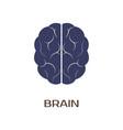 logotype of brain vector image