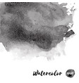 dark black watercolor texture vector image vector image