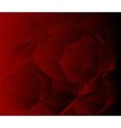 Dark red Geometric background vector image vector image