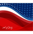 image of american flag vector image