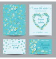 Invitation or Greeting Card Set