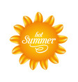 nature sunny with text abstract summer background vector image vector image