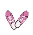 Sport gumshoes vector image vector image