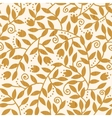 Textured Wooden Branches Seamless Pattern vector image vector image