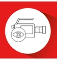 video production design vector image