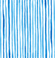 watercolor stripes pattern vector image