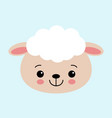 animal sheep cute design best for vector image