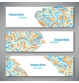 Business style template vector image vector image