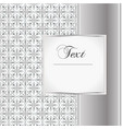 card in east style with place for text vector image vector image