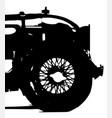 classic wire wheel vector image