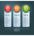 Colorful options banner template vector | Price: 1 Credit (USD $1)