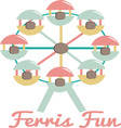 Ferris Fun vector image vector image