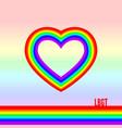 lgbt pride month lesbian gay bisexual transgender vector image vector image