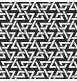 monochrome seamless pattern of rhombuses shaped vector image vector image