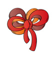 ribbon on the white background vector image vector image