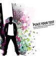 standing businessman vector image vector image