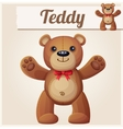 Teddy bear love hugs vector image vector image