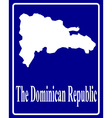 The Dominican Republic vector image