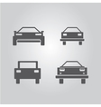 car logo set car icons collection vector image