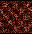 color abstract diagonal square mosaic pattern vector image vector image