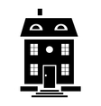 Family house icon simple style vector image vector image