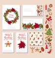 festive templates with different traditional vector image